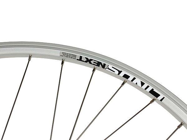 Linus Next Rullebremse Forhjul, Silver