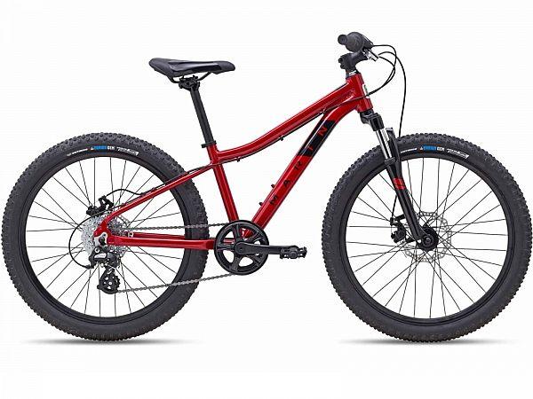 """Marin Bayview Trail 24"""" Red - Børnecykel - 2022"""