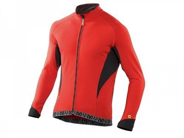 Mavic Echappée LS Cykeltrøje, Bright Red