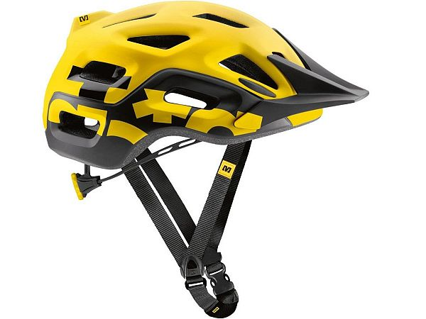 Mavic Notch Cykelhjelm, Yellow/Black