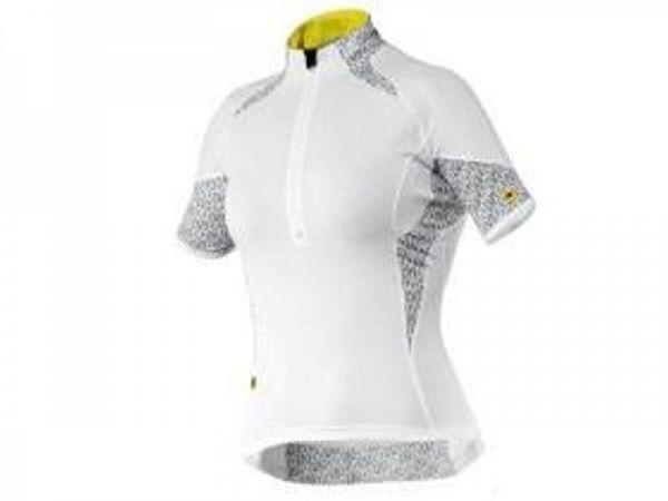 Mavic Oxygen Lady Cykeltrøje, White