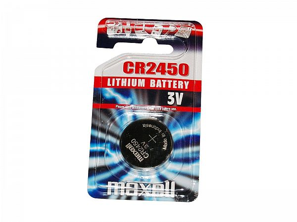Maxell CR2450 3V Batteri