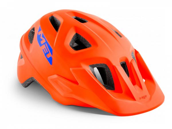 MET Eldar Cykelhjelm, Matt Orange