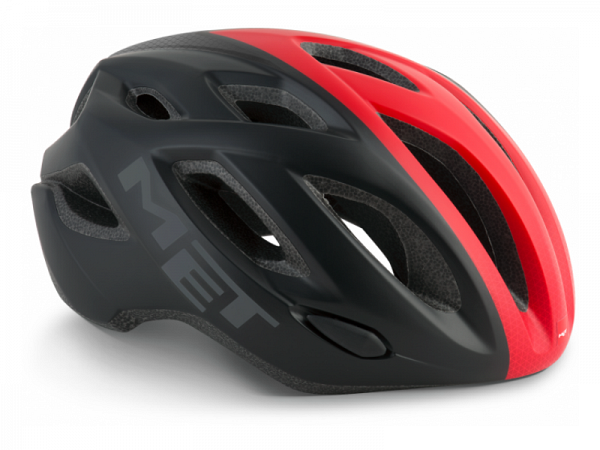 MET Idolo Cykelhjelm, Black/Red