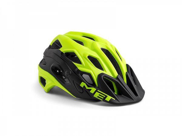 MET Lupo Cykelhjelm, Black/Yellow