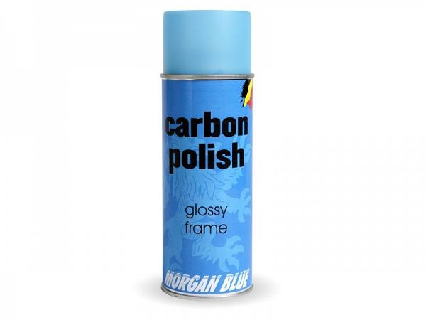 Morgan Blue Carbon Shiny Polish, 400ml