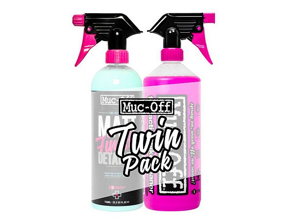 Muc-Off Clean and Finish Duo-Pack