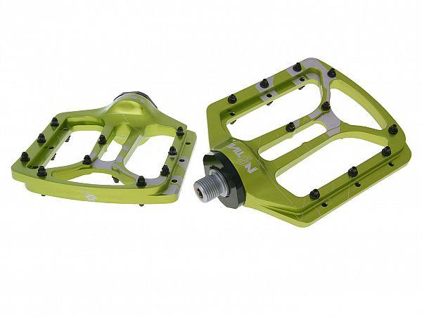 N8TIVE NOAX Flat Pedals, grøn