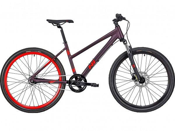 "Nishiki Reno 26"" Purple - Juniorcykel - 2021"