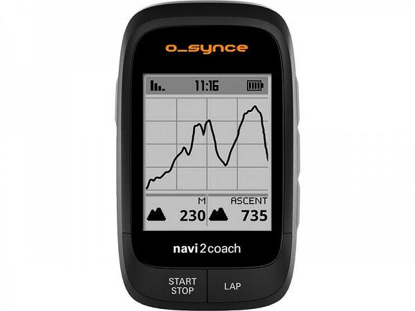 o_synce Navi2coach GPS Cykelcomputer