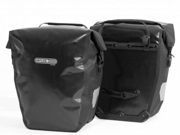 Ortlieb Back-Roller City Black Sidetaskesæt, 2 x 20L