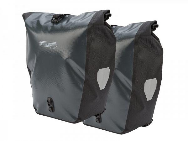 Ortlieb Back-Roller Classic Grey Taskesæt, 2 x 20L