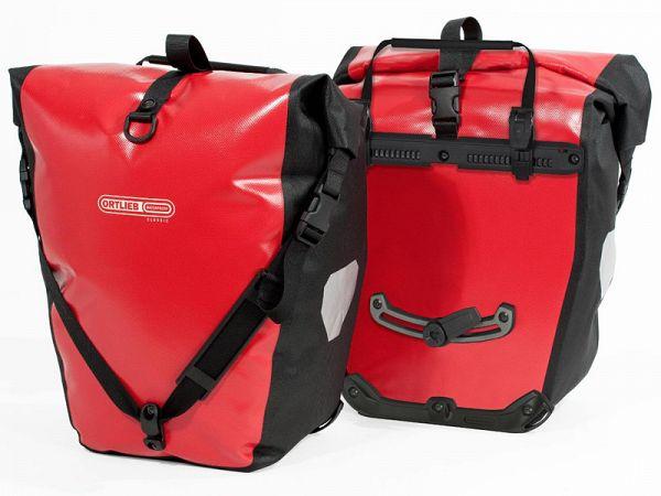 Ortlieb Back-Roller Classic Red Taskesæt, 2 x 20L