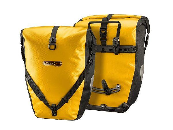 Ortlieb Back-Roller Classic Yellow Taskesæt, 2 x 20L