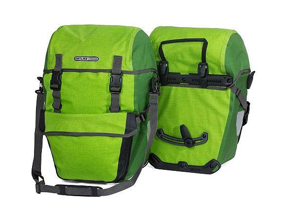 Ortlieb Bike-Packer Plus Green Taskesæt, 2 x 21L