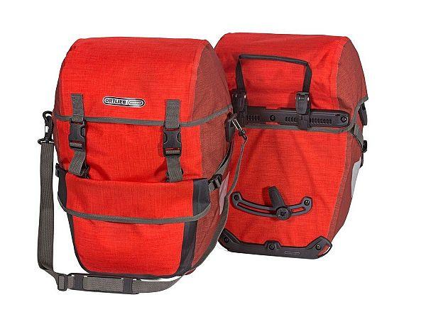 Ortlieb Bike-Packer Plus Red Taskesæt, 2 x 21L