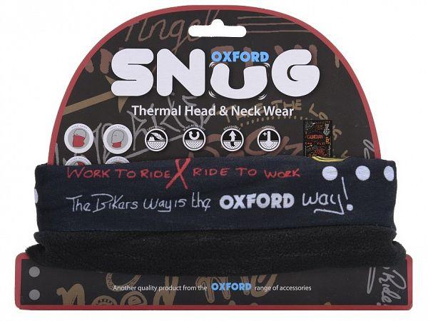 Oxford Snug Graffiti Multi Halsrør