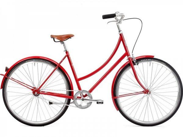 Pelago Brooklyn 1 Red - Damecykel - 2019