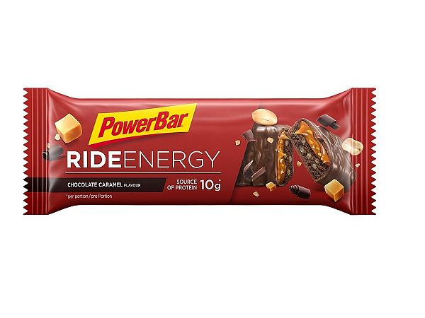 PowerBar Chocolate Caramel Fudge RideBar, 55g