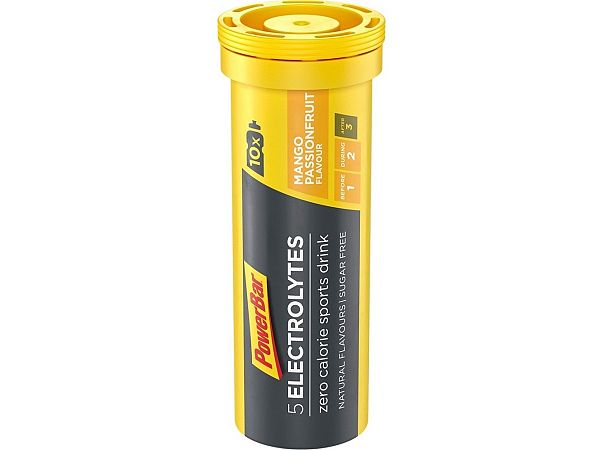 PowerBar Mango Passionfruit Elektrolyttabs, 10stk