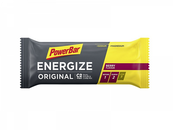 PowerBar Original Berry Blast Energize Bar, 55g