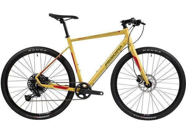 Principia Gravel Hybrid 12 Yellow - Herrecykel - 2021