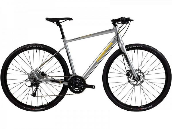 Principia Gravel Hybrid 18 Silver - Herrecykel - 2021
