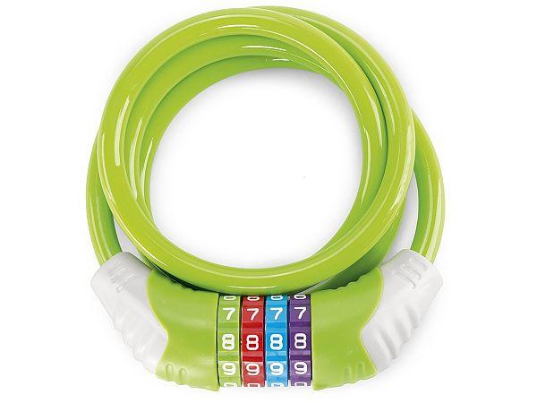Puky 4-Cifret Spirallås, 120 cm