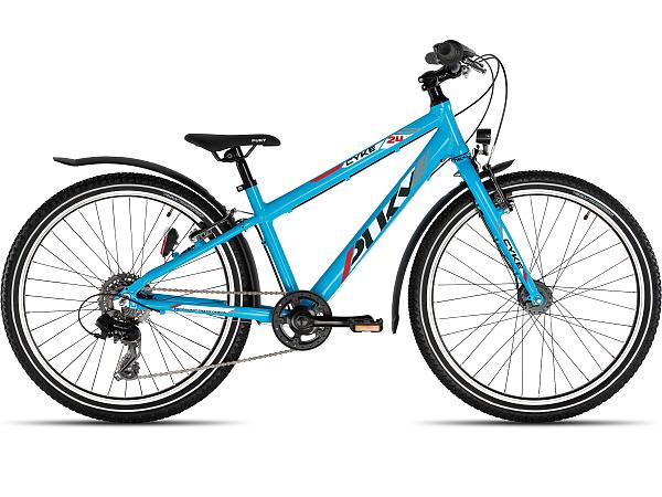 Puky CYKE 24-8 Alu Light Active Blue - Børnecykel - 2022
