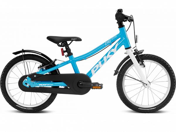 """Puky Cyke Alu 16"""" Fresh Blue- Børnecykel - 2022"""
