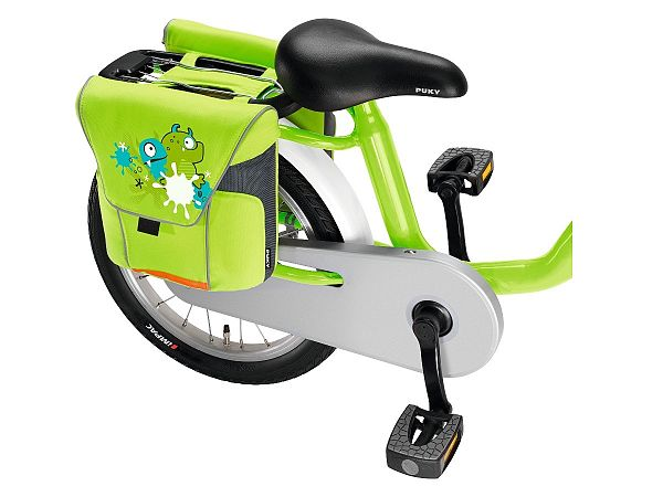 "Puky grønne Cykeltasker, 12-18"""