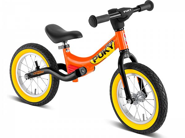 Puky LR Ride Splash fra 90cm Løbecykel, Orange