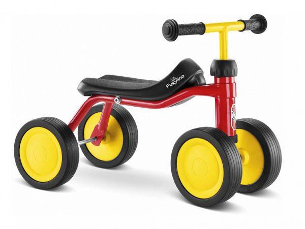 Puky PUKYlino Løbecykel - fra 75 cm - rød
