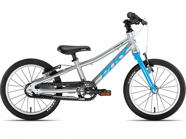 """Puky S-Pro 16-1 Alu 16"""" Blue - Børnecykel - 2020"""