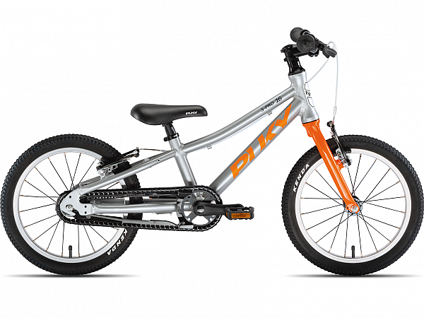 """Puky S-Pro 16-1 Alu 16"""" Orange - Børnecykel - 2020"""