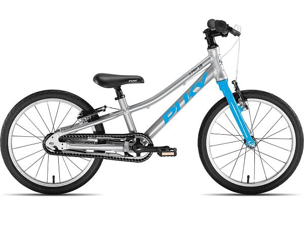 """Puky S-Pro 18-1 Alu 18"""" Blue - Børnecykel - 2021"""