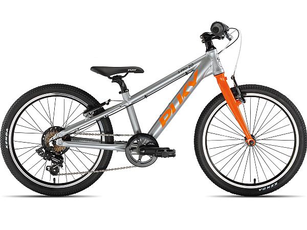"""Puky S-Pro 20-7 Alu 20"""" Orange - Børnecykel - 2021"""