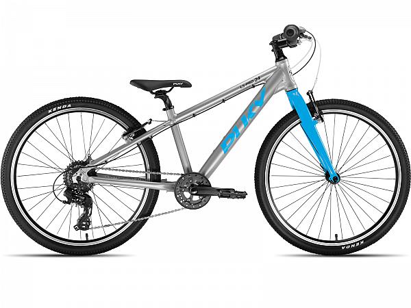 """Puky S-Pro 24-8 Alu 24"""" Blue - Børnecykel - 2021"""