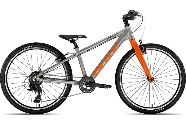 """Puky S-Pro 24-8 Alu 24"""" Orange - Børnecykel - 2021"""