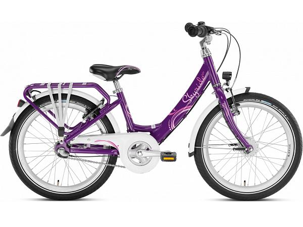 "Puky Skyride 20-3 Alu Light 20"" Purple - Pigecykel - 2022"