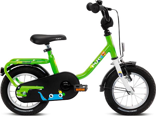 """Puky Steel 12"""" Kiwi - Børnecykel - 2021"""