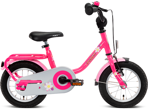 """Puky Steel 12"""" Lovely Pink - Pigecykel - 2021"""