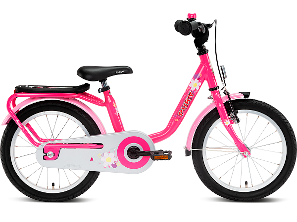 """Puky Steel 16"""" Lovely Pink - Pigecykel - 2022"""