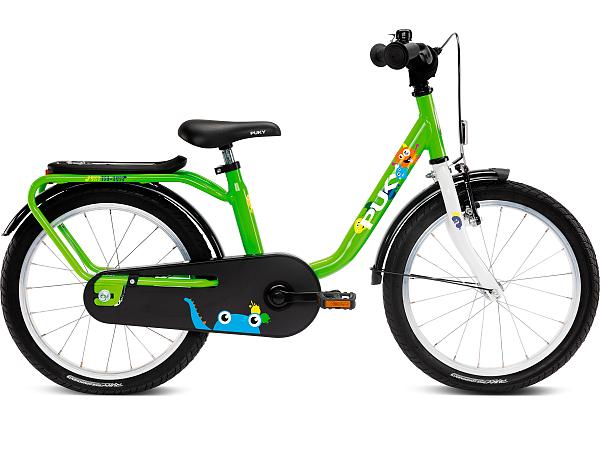 """Puky Steel 18"""" Kiwi - Børnecykel - 2021"""
