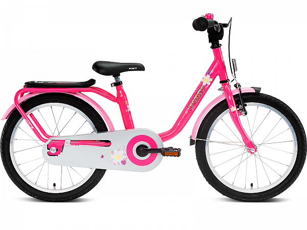 """Puky Steel 18"""" Lovely Pink - Pigecykel - 2021"""