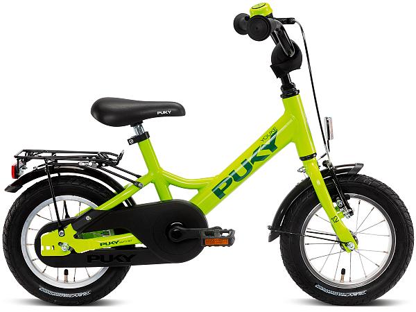 "Puky Youke 12"" Green - Børnecykel - 2021"