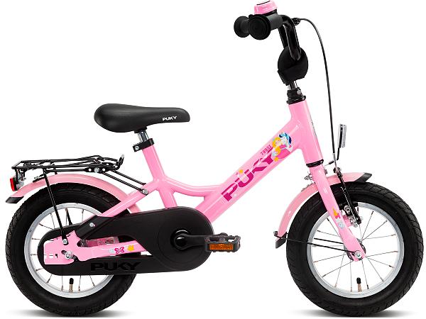 """Puky Youke 12"""" Rose - Børnecykel - 2021"""