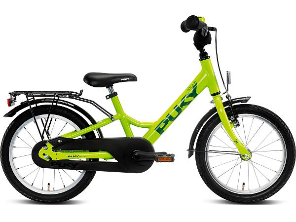 "Puky Youke 16"" Fresh Green - Børnecykel - 2022"