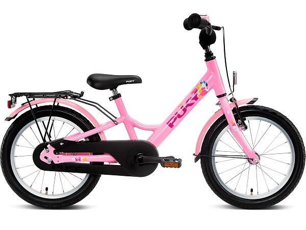 """Puky Youke 16"""" Rose - Børnecykel - 2021"""