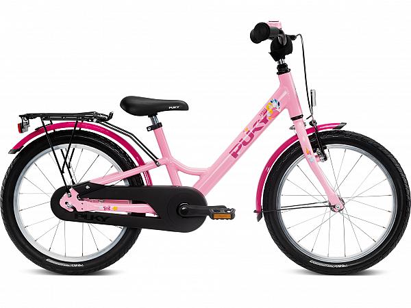 """Puky Youke 18"""" Rose - Børnecykel - 2021"""